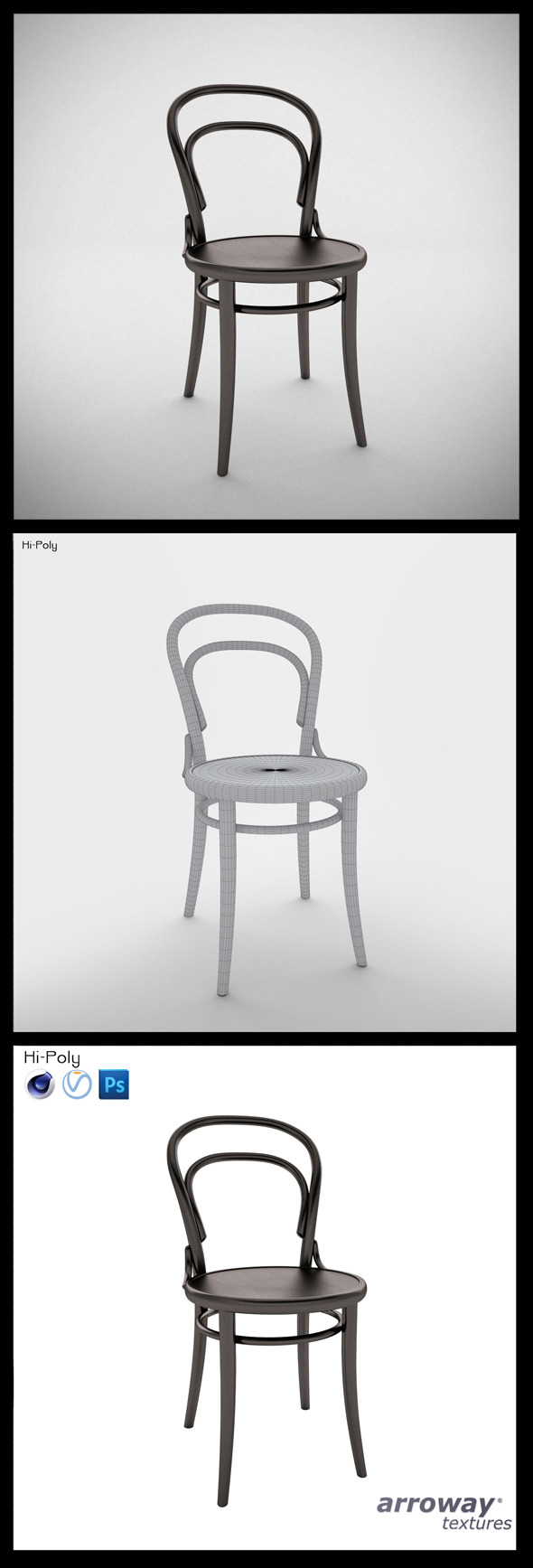 Ton N°14 Hi-Poly - 3DOcean Item for Sale