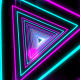 Colorful Neon Light Tunnel VJ - VideoHive Item for Sale