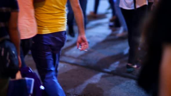 VideoHive People Walking The Street 18762870