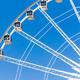 ferris wheel against blue sky - PhotoDune Item for Sale