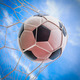 soccer ball in goal net - PhotoDune Item for Sale