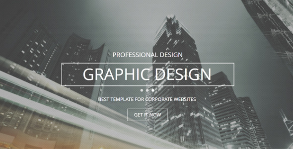 ThemeForest Classic Multi-purpose Muse Template 7415559