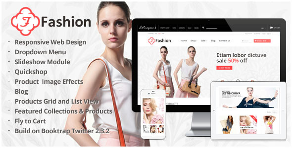 Responsive Shopify Theme - Fashion