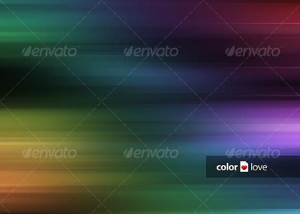 GraphicRiver Color Love Background 31483