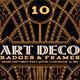 ArtDeco Badges & Frames - GraphicRiver Item for Sale