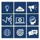 SEO Icons Set - GraphicRiver Item for Sale