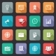 Collection of Internet Education Icons - GraphicRiver Item for Sale