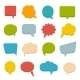 Colored Communication Bubbles - GraphicRiver Item for Sale
