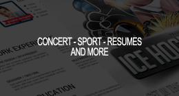 Concert-Sport-Resumes and more