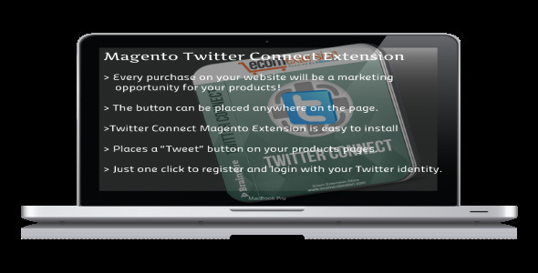 CodeCanyon Magento Twitter Connect Extension 7420155