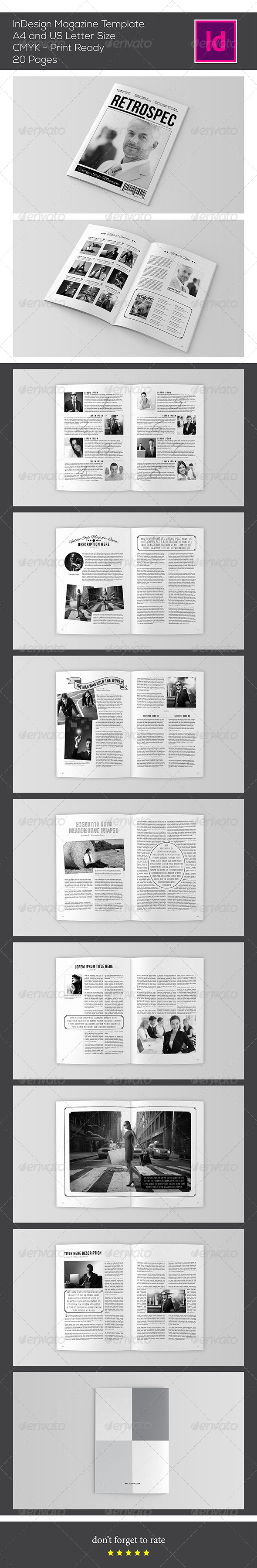 GraphicRiver InDesign Magazine Template 7421157
