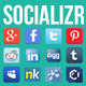 Socializr Social Share Toolbar WordPress Plugin