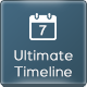 WordPress Ultimate Timeline - CodeCanyon Item for Sale