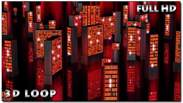 Night Mirage City Loop 3D