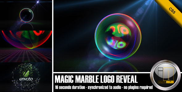 After Effects Project - VideoHive Magic Marble Logo Reveal 764872