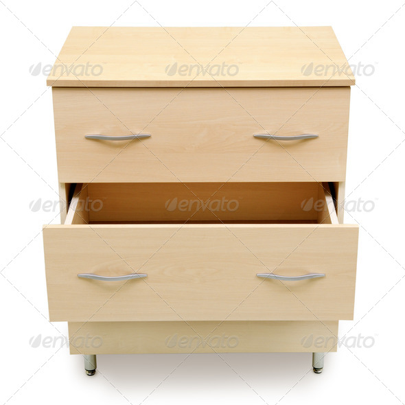 chest of drawers - Stock Photo - Images