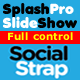 SplashPro full screen slider addon for SocialStrap