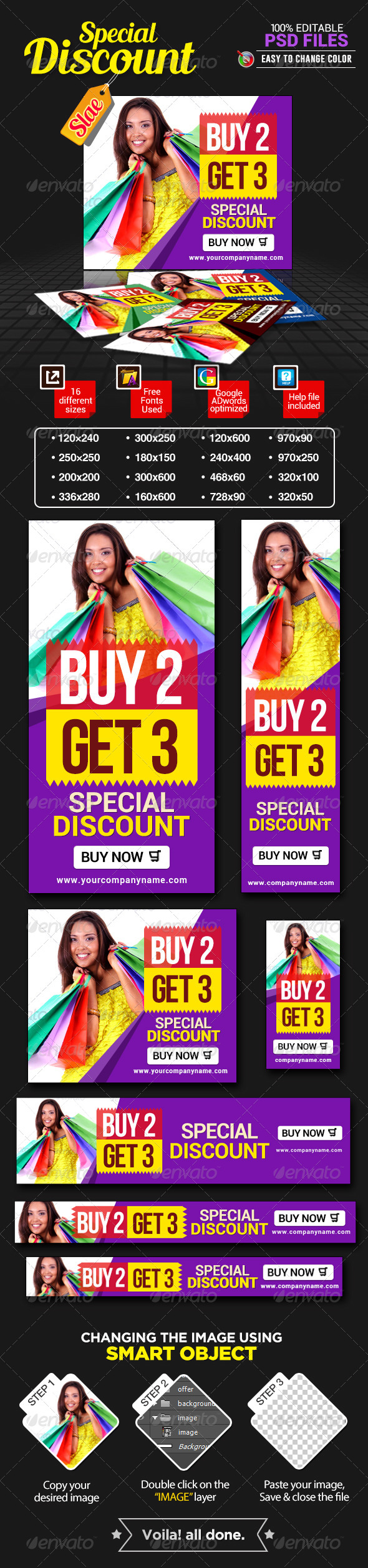 GraphicRiver Discount Sale Banners 7428359