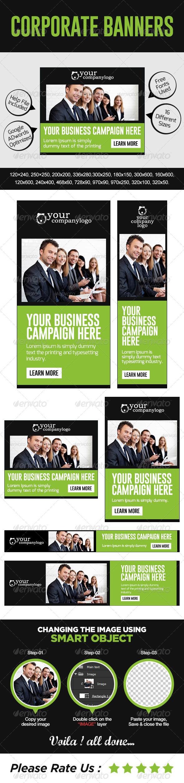 GraphicRiver Multi Purpose Corporate Banners 7428360