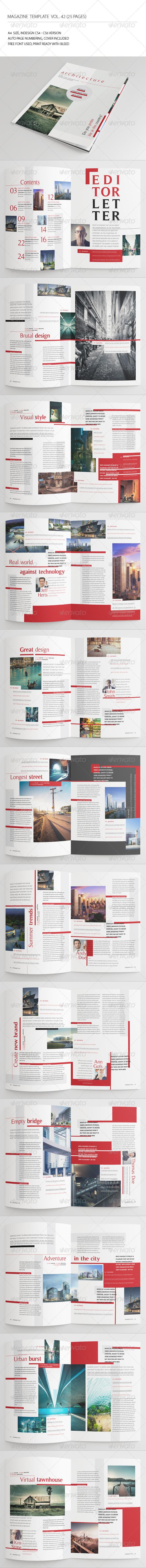 25 Pages Architecture Magazine Vol42