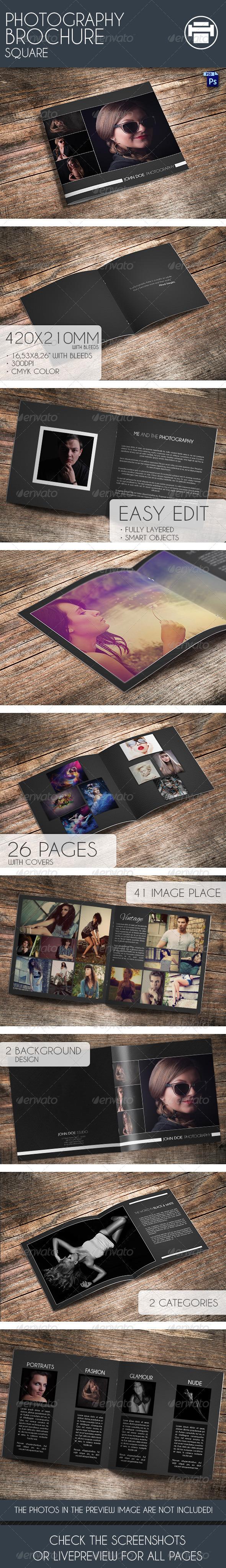 Photography Bochure Square - Portfolio Brochures