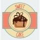 Vintage Cupcake Poster Design - GraphicRiver Item for Sale