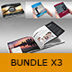 Bundle Brochures Template Indesign x3 - GraphicRiver Item for Sale