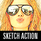 Sketchmaster Photoshop Action - GraphicRiver Item for Sale