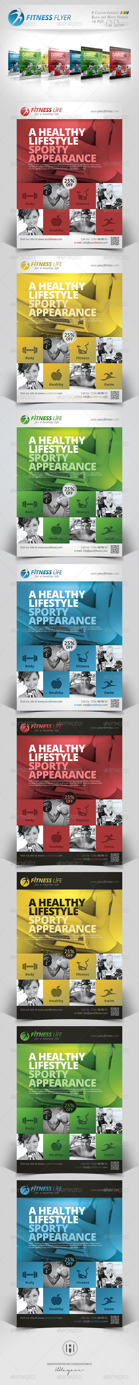Fitness - Sports Business Flyer