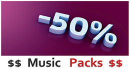 Discounted Music Packs