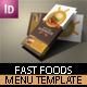 Burger Shop Brochure Template - GraphicRiver Item for Sale