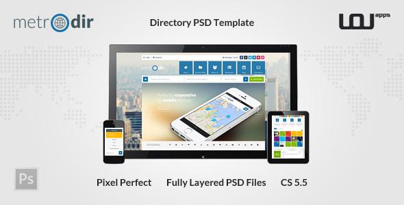 METRODIR -  Directory PSD Template