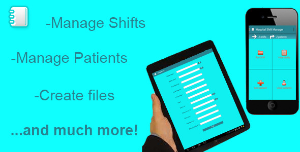 CodeCanyon Hospital Shift and Patient Manager 7435679