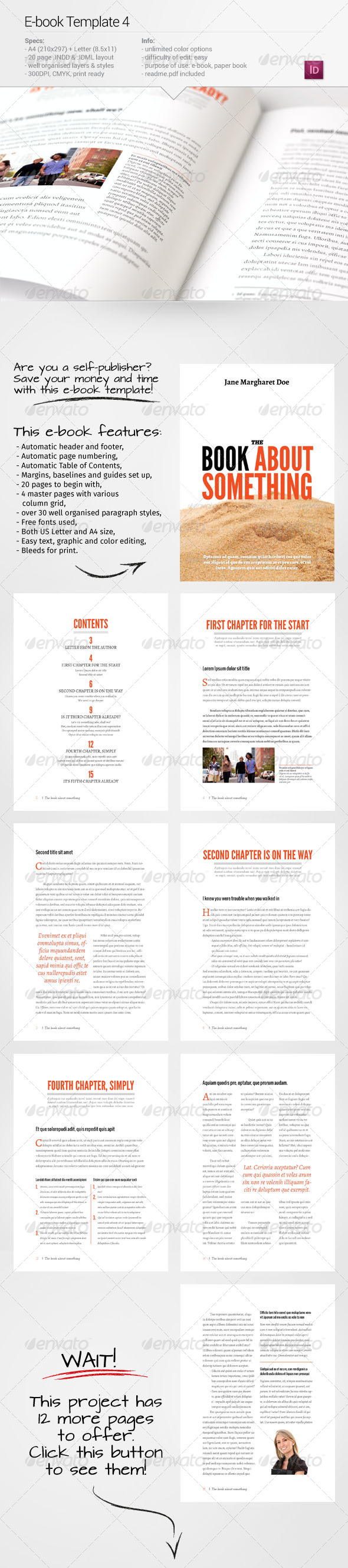 GraphicRiver E-book Template 4 7435847