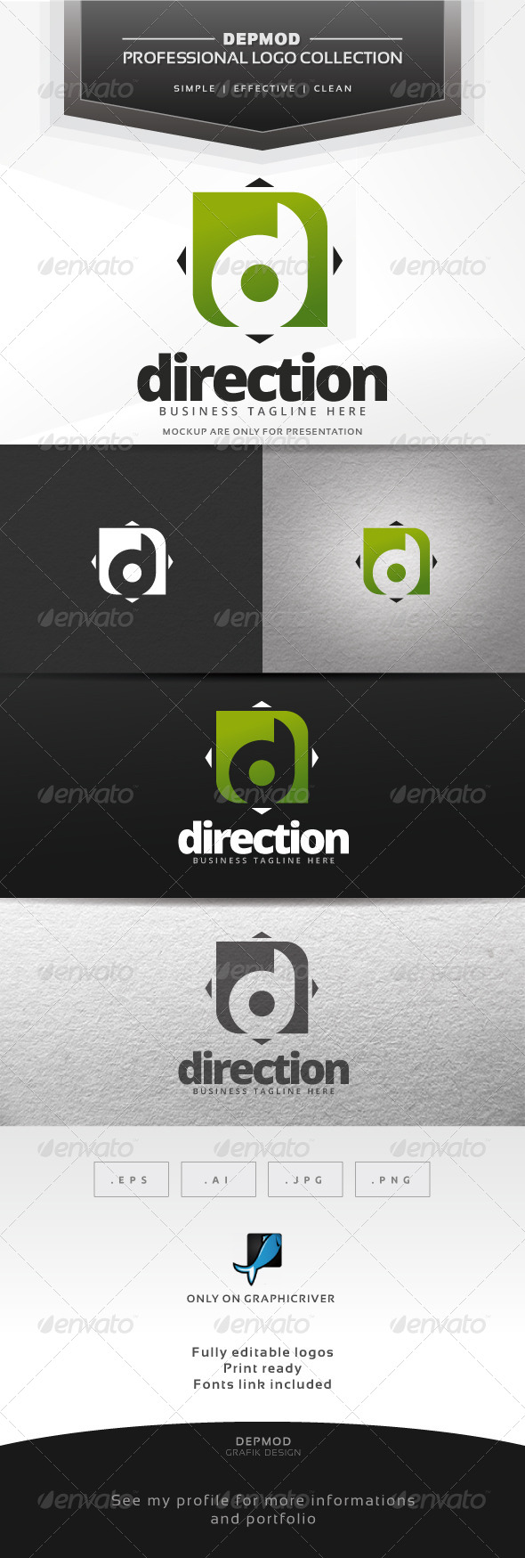 GraphicRiver Direction Logo 7436257
