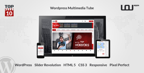 TOP10 - Wordpress Multimedia Tube