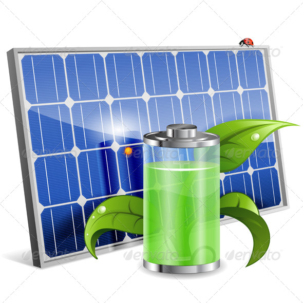 GraphicRiver Solar Panel 7436660