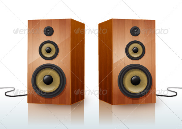 GraphicRiver Speakers 7436664