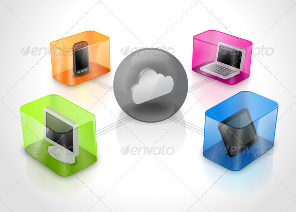 GraphicRiver Cloud Computing 7437036