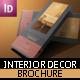 Interior Decor Brochure Design - GraphicRiver Item for Sale