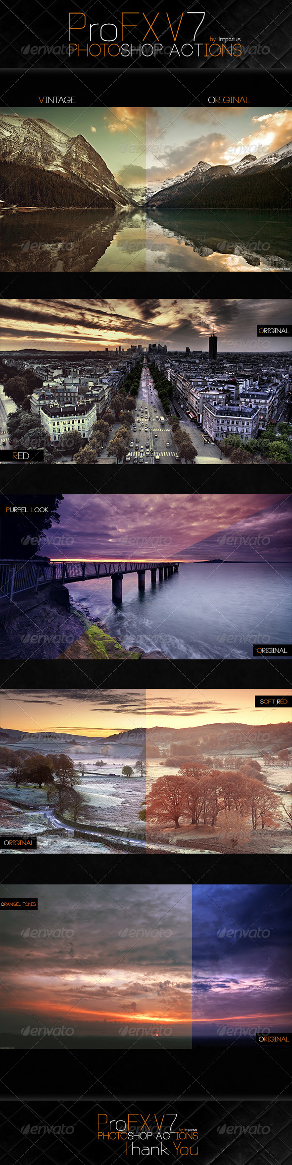 GraphicRiver ProFX V7 Actions 7437568