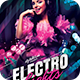 Electro Lights Flyer - GraphicRiver Item for Sale