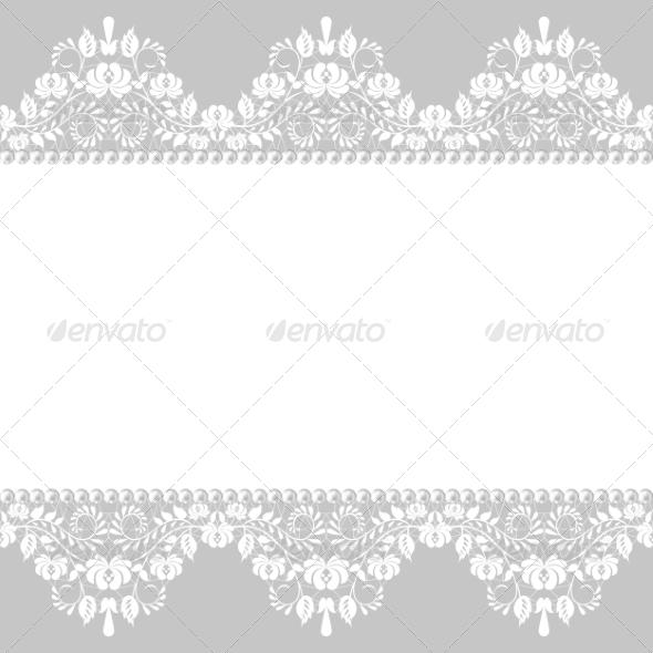 GraphicRiver Lace Border 7437991
