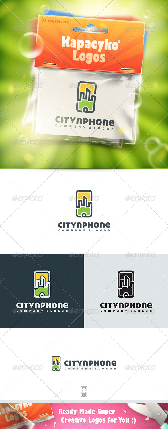 GraphicRiver Citynphone Logo 7438066