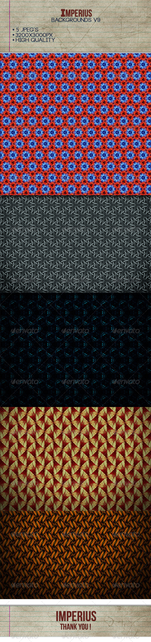 Backgrounds V9 - Patterns Backgrounds