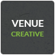 Venue - Creative And Flat Responsive Landing Page