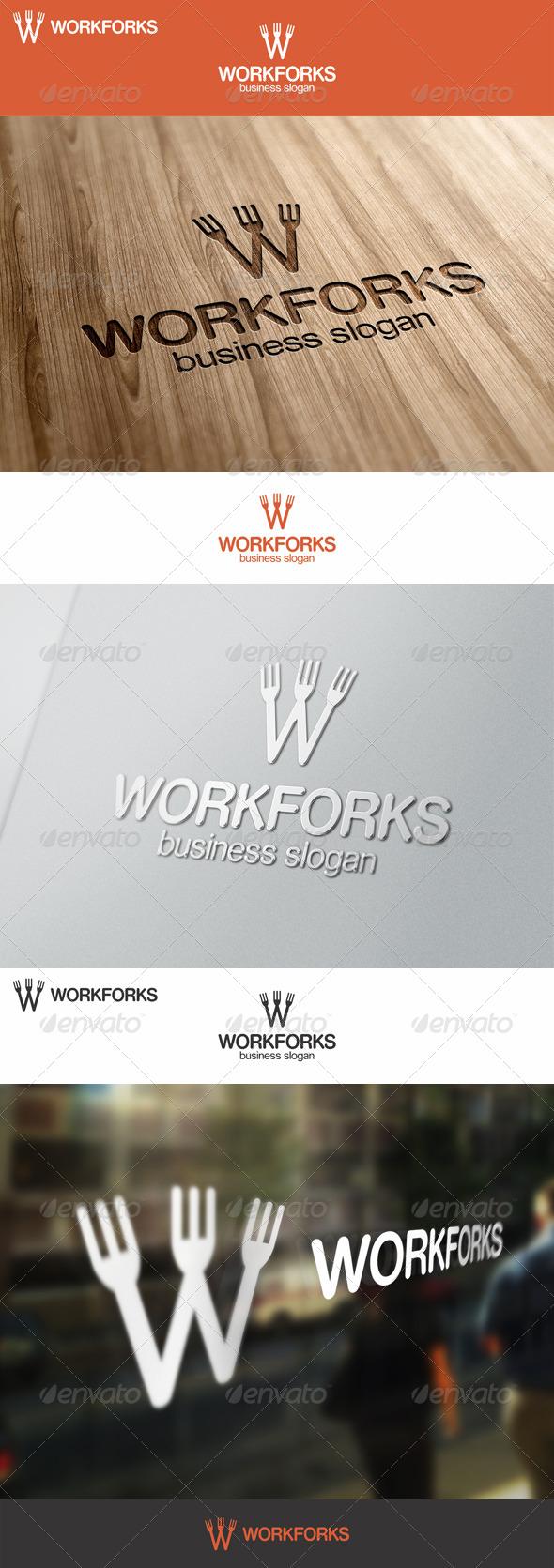 Work Forks Logo