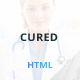 Cured - Bootstrap One Page HTML/CSS Template - ThemeForest Item for Sale