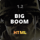 BigBoom - Clean & Powerful HTML/CSS Template - ThemeForest Item for Sale