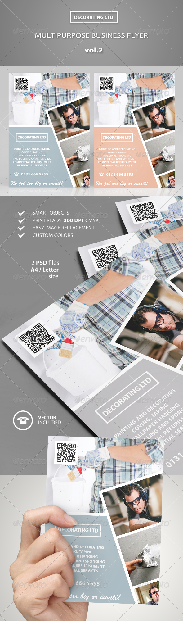 GraphicRiver Multipurpose Business Flyer vol.2 7439890